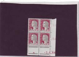 N° 1263 - 0,25F Marianne De DECARIS - CA De CA+CB - 2° Partie Du Tirage Du 2.3.64 Au 3.4.64 - Dernier Jour - - 1960-1969