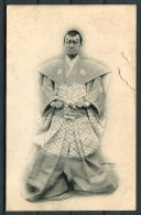 Japan Samurai Actor Postcard - Japan