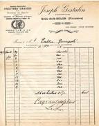 29 RIEC Sur BELON  Ostréiculture Ets Joseph GESTALIN  1912 - France