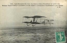 LES PIONNIERS DE L'AIR LE BIPLAN ODIER VENDOME EN PLEIN VOL - ....-1914: Precursores