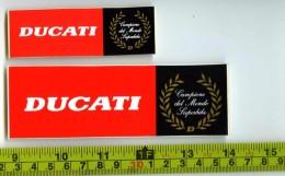 Ducati Adesivi Concessionario Originali Nuovi Anni '90 - Genuine Factory Stickers - Moto