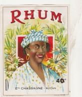 - ETIQUETTE DE RHUM - CHASSAGNE à ROYAN   - 014 - Rhum