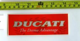 Ducati Adesivo Concessionario Originale Nuovo Anni '90 - Genuine Factory Sticker - Moto