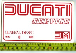 Ducati Adesivo Concessionario Originale Nuovo Anni '70 - Genuine Factory Sticker - Moto