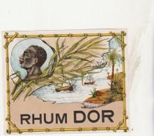 - ETIQUETTE DE RHUM - DOR  - 019 - Rhum