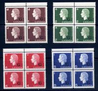 Canada  Sc# O46-O49  (**)   MNH  Block-4 1963 - Overprinted