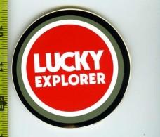 Cagiva Adesivo Lucky Explorer Concessionario Originale Nuovo Anni '80 - Genuine Factory Sticker - Moto