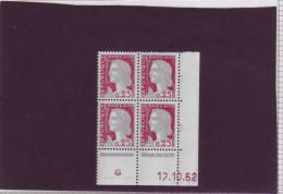 N° 1263 - 0,25F Marianne De DECARIS - BA De BA+BB - 1° Tirage Du 2.8.62 Au 31.10.1962 - 17.10.1962 - - 1960-1969