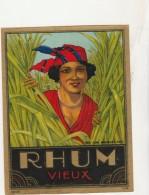 - ETIQUETTE DE RHUM   - 035 - Rhum
