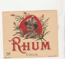 - ETIQUETTE DE RHUM   - 041 - Rhum