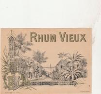 - ETIQUETTE DE RHUM   - 043 - Rhum
