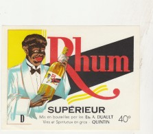 - ETIQUETTE DE RHUM   - 045 - Rhum