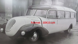 Reproduction D'une Photographie D'un Magirus Bus En 1951 - Repro's