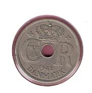 FAROER 25 ORE 1941 SCARCE - Monnaies