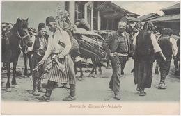 Bosna I Hercegovina - Sarajevo (Lemonade Salesman) - With Stamp 1906 - Bosnie-Herzegovine