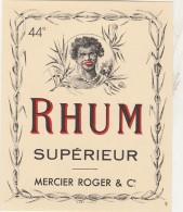 - ETIQUETTE DE RHUM   - 056 - Rhum