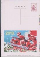 B)2013 KOREA,  POSTAL STATIONARY PROOF ESSAYS KOREA, MEN IN WAR, BATTLE, ANNIVERSARY OF THE KOREAN WAR, XF - Korea (...-1945)