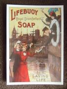 Carte Publicitaire , Quai Des Au Revoir  , Lifebuoy Soap Series  ( Savon )  ,  Robert Opie Collection , Gloucester - Publicité