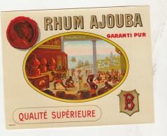 - ETIQUETTE DE RHUM   - 063 - Rhum