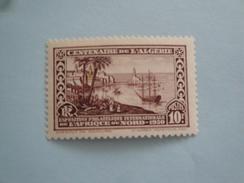 Algérie 1930  Yvert  100  *   Scott  106  Michel 101  Bateaux  Ships - Unused Stamps