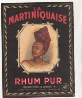 - ETIQUETTE DE RHUM   - 073 - Rhum