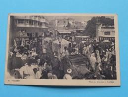 Fête Du MOULOUD - Cortège ( 19 ) Anno 1938 ( Zie Foto Details ) !! - Tanger