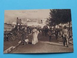 La Place Du Marché ( 33 ) Anno 19?? ( Zie Foto Details ) !! - Rabat