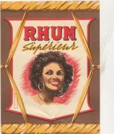 - ETIQUETTE DE RHUM - 082 - Rhum