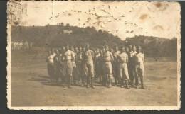 2VV17--   VARIE VARIE,     FOTO   DI SOLDATI SCHIERATI IN FORMAZIONE DI RIPOSO, - Weltkrieg 1939-45