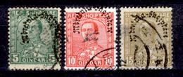 Albania-0118 - 1928: Yvert & Tellier N. 209, 210, 211 (o) Obliterated - Privi Di Difetti Occulti - - Albania