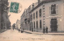 88 - Remiremont  - Rue De La Poste Animée - ( Postes-Télégraphes-Téléphones ) - Remiremont