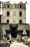 AE 165 / C P A -VILLERS SUR MER     (14)  TROUVILLE HOTEL AVENUE DE LA GARE - Villers Sur Mer