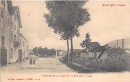 88 - Saint-Dié - Entrée Animée De La Ville Par La Rue Des 3 Villes - Saint Die