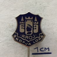 Badge (Pin) ZN004071 - Slovenija (Slovenia) Skofja Loka (Bischofslack) - Ciudades