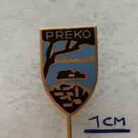 Badge (Pin) ZN004078 - Croatia (Hrvatska) Preko (Oltre) - Villes