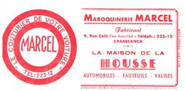 Ma M A/Buvard         Maroquinerie M Avez  (Format 15 X 7.5) (N= 1) - Carte Assorbenti