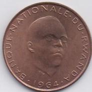 RWANDA - Grégoire KAYIBANDA - 5 Fr 1964 - Rwanda