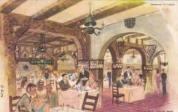 Argentina Buenos Aires La Cabana Restaurant Dining Room