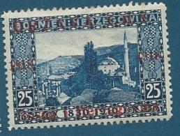 Yougoslavie - Yvert N° 39  *  - Ava 15904 - Neufs