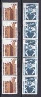 Bund  Rollenmarke    1347 - 1348 ** Postfrisch  Mit Nr. Senkrecht - [7] Federal Republic