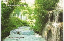 Düden Waterfalls, ANTALAYA, Carte Postale Neuve , Non Circulée De Turquie - Turquie