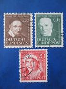 Bund Mi 143 - 45  Gestempelt  ,  Gute Erhaltung - Used Stamps