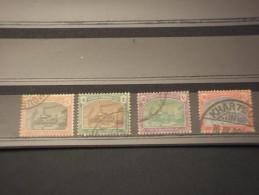 SUDAN - TASSE 1901 NAVE  4 Valori - TIMBRATI/USED - Sudan (1954-...)