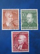 Bund Mi 156 - 58  Gestempelt  ,  Gute Erhaltung - Used Stamps