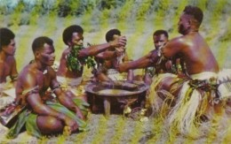 Fiji The Yanqona Ceremony Kava Drink - Fiji
