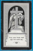 Bidprentje Van Anna-Elisabeth-H. Bergans - Engelmanshoven - Gelinden - 1842 - 1913 - Images Religieuses