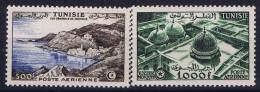 Tunesie:    Yv  AE  19 + 19 MNH/**/postfrisch/neuf Sans Charniere 1953 - Airmail