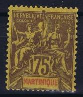 Martinique Yv Nr 42 MH/* Falz/ Charniere - Martinique (1886-1947)