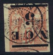 Nouvelle Caledonie  Yv Nr 6a Surcharge Renversée  Obl Used  1891 - Gebraucht