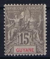 Guyane  Yv Nr  45  MH/* Falz/ Charniere 1900 - Neufs